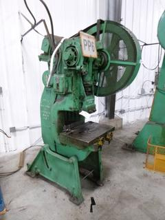 Perkins Punch Press, Model 450-B, *Note: No Dies* *Buyer Responsible for Loadout*