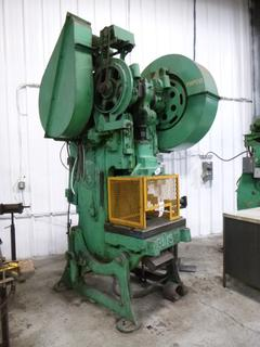E.W. Bliss Punch Press, Model 21 1/2 A M, *Note: No Dies* *Buyer Responsible for Loadout*