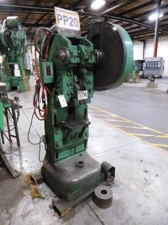 Rousselle Punch Press, Model No. 25H, *Note: No Dies* *Buyer Responsible for Loadout*