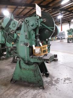Brown Boggs Punch Press, Model 14LW, 30 Ton, *Note: No Dies* *Buyer Responsible for Loadout*