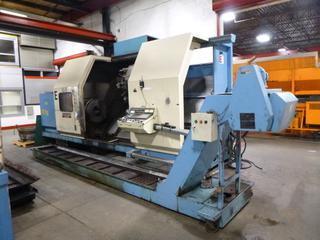 1998 Dainichi CNC Machine, Model B105, 105Mx250, SN 28313, With Chip Conveyor, Includes 3 Jaw Chick, Multi-Tool Turrent, Steady Rest, Tooling *Buyer Responsible For Loadout*