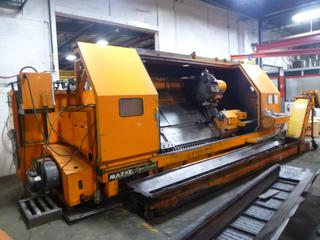 1982 Yamazaki Slant Turn CNC Machine, Model ST-60, SN 50975, Mill Centre 4000 With Mayfran Chip-Tote Chip Conveyor, Includes 3 Jaw Chuck, Multi-Tool Turrent, Steady Rest, *Note: *Needs Main Electric Motor* *Buyer Responsible For Loadout*