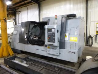 2012 Accuway CNC Machine, Model UT-400, SN 9856008, With Chip Conveyor, Includes 3 Jaw Chuck, Multi-Tool Turrent, 3Phase 220V. *Note: Still In Use June 2021* PL#11 *Buyer Responsible For Loadout*