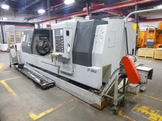 2012 Accuway CNC Machine, Model UT-300LX, SN 9555034, With Chip Conveyor, Includes 3 Jaw Chuck, Multi-Tool Turrent, 3Phase 220V. PL# 13 *Buyer Responsible For Loadout*