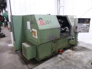 1981 Ikegai CNC Machine, Model AX20N, Type A02B-0050-B401, SN 7046981, Includes 3 Jaw Chuck, Multi-Tool Turrent, *Note: Needs Bearings In Chuck* *Buyer Responsible For Loadout*