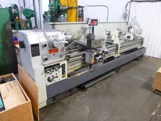 Modern Lathe Model 660X3000, SN 20305, Crate of Tooling And Operational Manual, Includes (2) 3 Jaw Chuck, 12 Ft. Bed, *Buyer Responsible For Loadout*