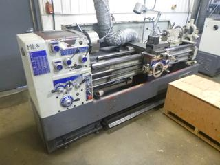 Modern Lathe Model 430X1700, SN 05706, Crate of Tooling, 3 And 4 Jaw Chuck, 7 Ft. Bed, 3-Phase 220 V. *Buyer Responsible For Loadout*
