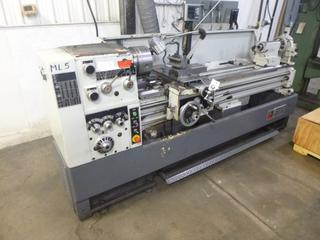 Modern Lathe With Digital Read-Out (DRO), Model 430X1700, SN 05017, Crate of Tooling, 3 And 4 Jaw Chuck, 7 Ft. Bed, *Buyer Responsible For Loadout*