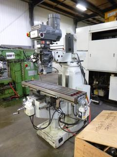 Modern Milling Machine With Digital Readout, Model 857II, SN 201306041, Crate of Tooling *Buyer Responsible For Loadout*