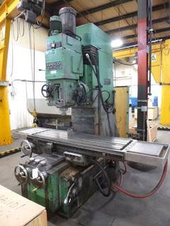 Rambaudi Ram Mill With Tooling, SN 49420 *Buyer Responsible For Loadout*