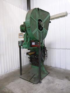 Given Punch Press, Model No. 4, *Note: No Dies* *Buyer Responsible for Loadout*
