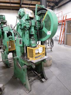 Given Machinery Punch Press, Model No. 4, *Note: No Dies* *Buyer Responsible for Loadout*