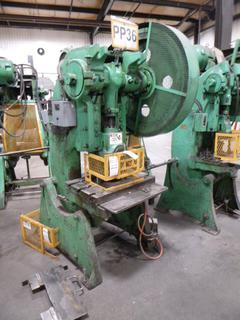 Brown Boggs Punch Press, Model 15LW, *Note: No Dies* *Buyer Responsible for Loadout*
