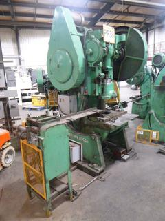 Brown Boggs 3-Phase Punch Press, Model 16LW, SN 12998, With Feeder, *Note: No Dies* *Buyer Responsible for Loadout*
