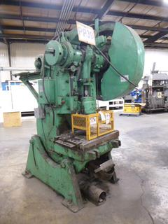 Brown Boggs Punch Press, 60 Ton Capacity, Model 17LW, *Note: No Dies* *Buyer Responsible for Loadout*