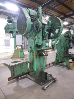 E.W. Bliss Punch Press, Model 41M, *Note: No Dies* *Buyer Responsible for Loadout*