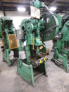 Niagara Punch Press, Model A2 1/2, Max. Slide Adjustment 1 7/8, SN 22661, With Finger Controls, *Note: No Dies* *Buyer Responsible for Loadout*