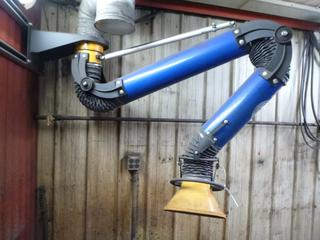 Oskar Fume Extraction Arm w/ Mounting Bracket