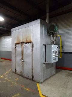 Natural Gas Tempering Oven With Exhaust Fans, Combustion Blower, Re-Circulation Fans, 101 In. x 65 In. x 10 Ft. *Buyer Responsible for Dismantling And Loadout*