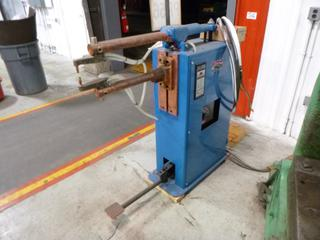 Weld-O-Matic Spot Welder, Model FTC, 25 KVA, 575 Volts With Extra Parts, SN 3601