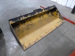 72 In. Caterpillar Clean Up Bucket, Part 279-5372, SN 65SSGP075892 PL#12B