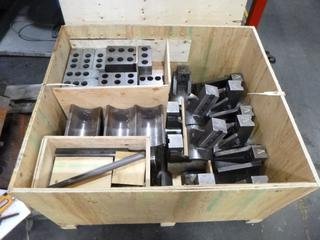 Crate of Various Tooling and Jaws for Viper And Accuway UT-400 CNC Machines