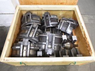 Crate of Various Jaws for Mazak CNC Machines