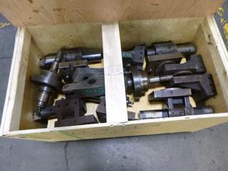 Crate of Various Tooling for Mazak CNC Machines