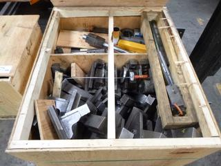 Crate of Various Jaws And Multi Use Tools for Accuway UT 300