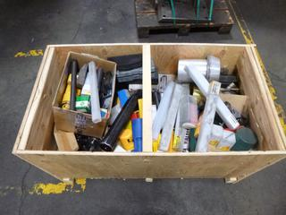 Crate of Various CNC Tools, Assorted Sizes