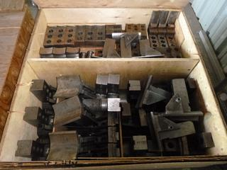 Crates Containing Various Tools for CNC Machines