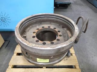 9.25 In. Center Hole Chuck, SN N1089 *Note: Rebuilt*, and (1) Misc. Chuck
