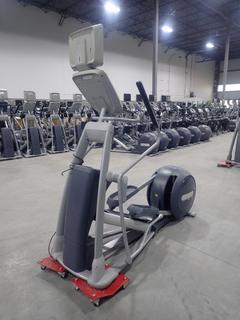 Precor Model EFX 800 Series Elliptical Cross Trainer C/w 15in LCD Monitor. SN ADFXB06130005 *Note: No Power Cord Or Adapter*