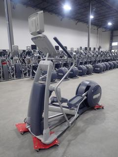 Precor Model EFX 800 Series Elliptical Cross-Trainer C/w 15in LCD Monitor. SN ADFXB20130024 *Note: No Power Cord Or AC Adapter,*