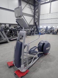 Precor Model EFX 800 Series Elliptical Cross-Trainer w/ 15in LCD Monitor. SN ADFXB06130002 *Note: No Power Cord Or AC Adapter*