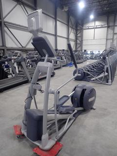 Precor EFX 556i Elliptical Cross-Trainer w/ Cardio Theatre 12in LCD Monitor And AC Adapter. SN AYHCK09100011