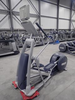 Precor EFX 800 Series Elliptical Cross-Trainer w/ 15in LCD Monitor And AC Adapter. SN ADFXL18120020