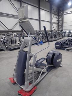 Precor EFX 800 Series Elliptical Cross-Trainer w/ 15in LCD Monitor And AC Adapter. SN ADFXC11130044