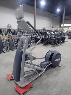Precor EFX 800 Series Elliptical Cross-Trainer w/ 15in LCD Monitor And AC Adapter. SN ADFXB051300028