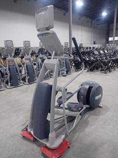 Precor EFX 800 Series Elliptical Cross-Trainer w/ 15in LCD Monitor And AC Adapter. SN ADFXB20130036