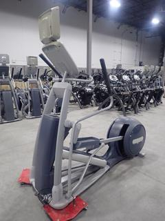 Precor EFX 800 Series Elliptical Cross-Trainer w/ 15in LCD Monitor And AC Adapter. SN ADFXL17120013