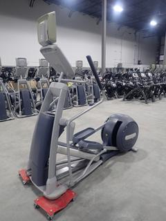 Precor EFX 800 Series Elliptical Cross-Trainer w/ 15in LCD Monitor And AC Adapter. SN ADFXF13130026