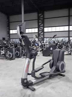 Life Fitness 95X Elliptical Cross-Trainer w/ HDTV 17in Monitor, Power Cord And AC Adapter. SN XTM105955 *Note: Working Condition Unknown*