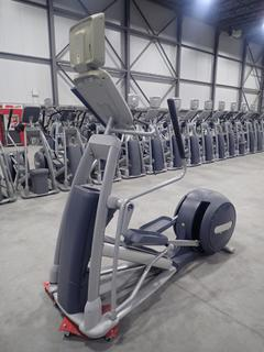 Precor EFX 800 Series Elliptical Cross-Trainer w/ 15in LCD Monitor, Power Cord And Adapter. SN ADFXB05130018