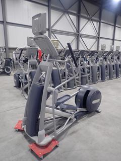Precor EFX 800 Series Elliptical Cross-Trainer w/ 15in LCD Monitor, Power Cord And AC Adapter. SN ADFXF13130022
