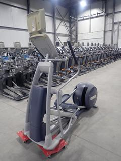 Precor EFX 800 Series Elliptical Cross-Trainer w/ 15in LCD Monitor, Power Cord, And AC Adapter. SN ADFXC21130027
