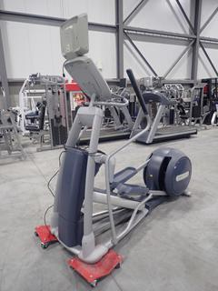 Precor EFX 800 Series Elliptical Cross-Trainer w/ 15in LCD Monitor, Power Cord And AC Adapter. SN ADFXC25130007