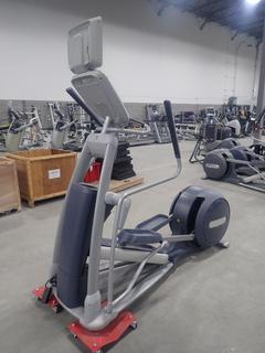 Precor EFX 800 Series Elliptical Cross-Trainer w/ 15in LCD Monitor. SN ADFXB20130020 *Note: No Plugin Or AC Adapter*