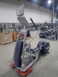 Precor EFX 800 Series Elliptical Cross-Trainer w/ 15in LCD Monitor, Power Cord And AC Adapter. SN ADFXB12130019