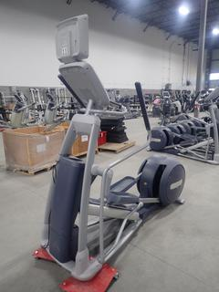 Precor EFX 800 Series Elliptical Cross-Trainer w/ 15in LCD Monitor. SN ADFXB05130031 *Note: No Power Cord Or AC Adapter*